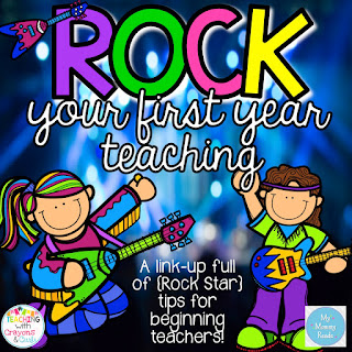 http://www.teachingwithcrayonsandcurls.com/2015/06/how-to-rock-as-new-teacher-linky-party.html
