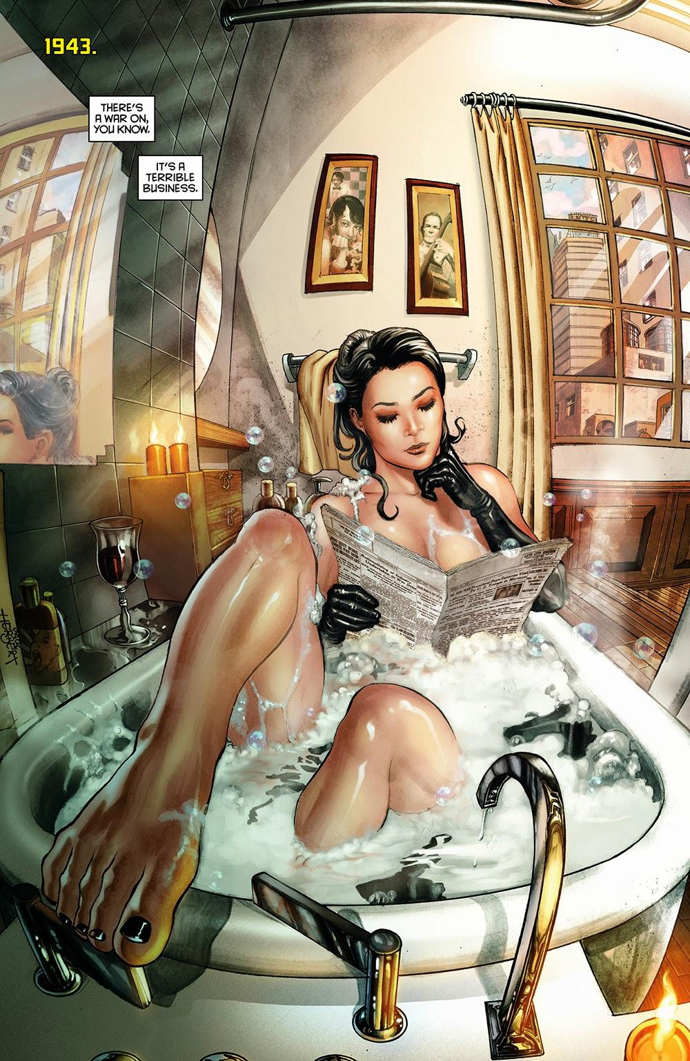 Фотоальбом девушки в ванной 19 фотография