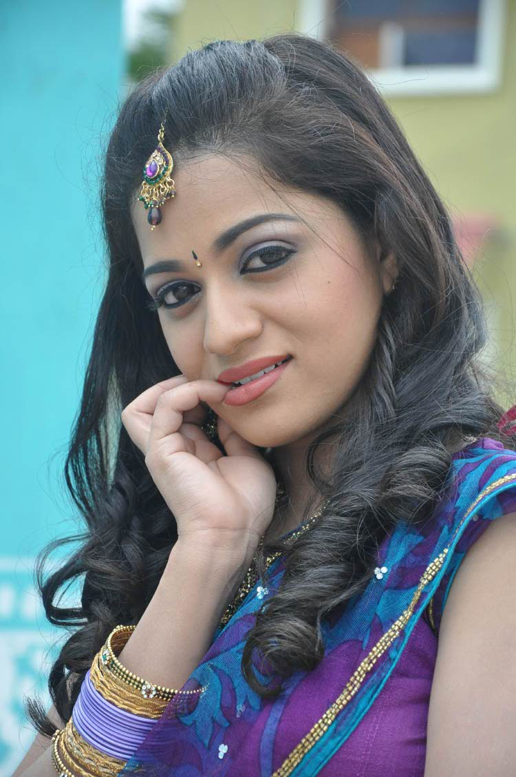 Reshma Telugu New Actress S In Blue Chudidar