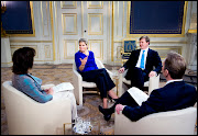 (photos: palais royal de Hollande) (interview maxima en willem )