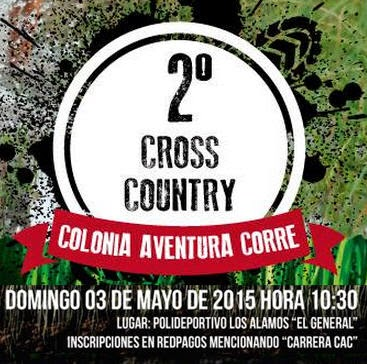 15k y 7k cross country CAC - Colonia Aventura Corre (Colonia, 03/may/2015)