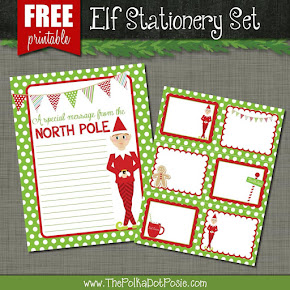 FREE Elf Stationery