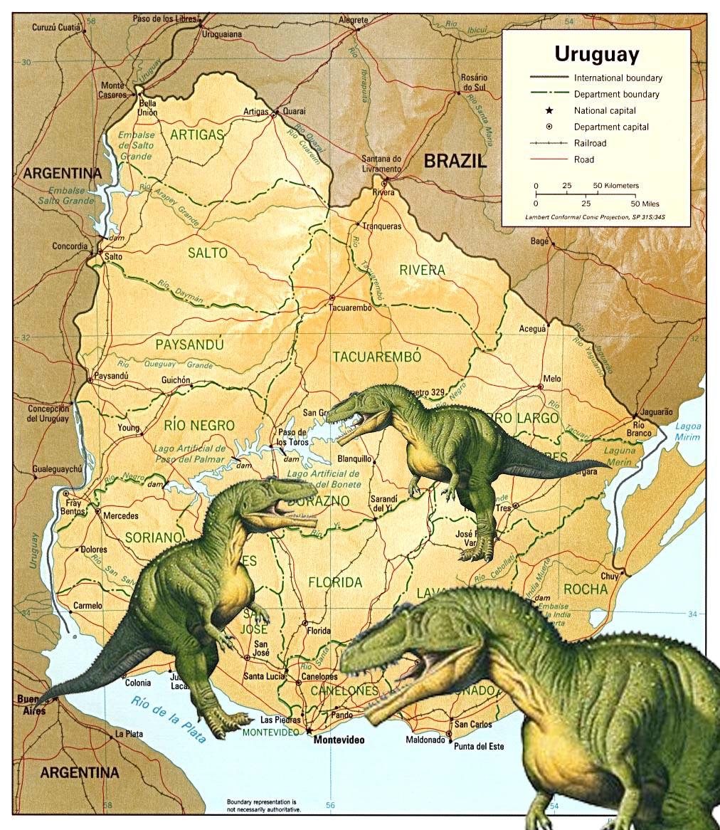 Descubren fosiles de dinosaurios