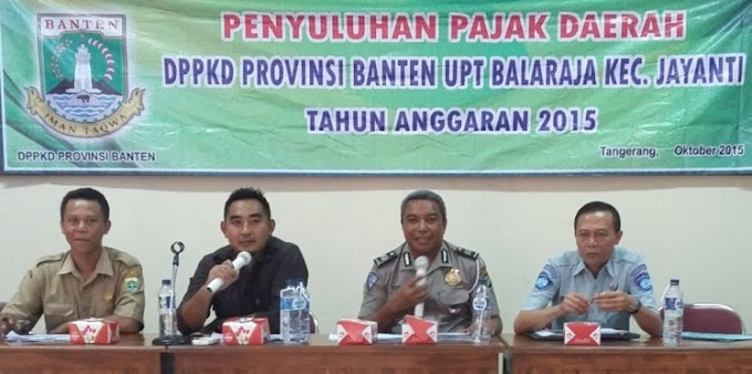 Samsat Balaraja Gelar Penyuluhan Pajak