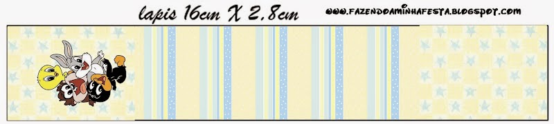 Free Printable Candy Bar Labels for Lonney Tunes Babies.