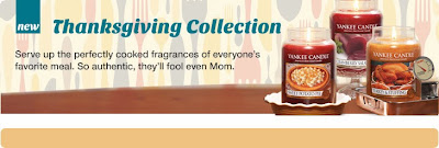 The Yankee Candle Company Thanksgiving Collection