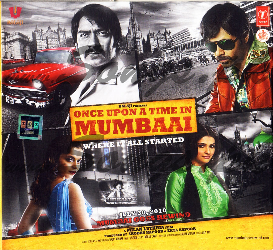 Once Upon a Time in Mumbai / 2010 / Hindistan / Online Film �zle