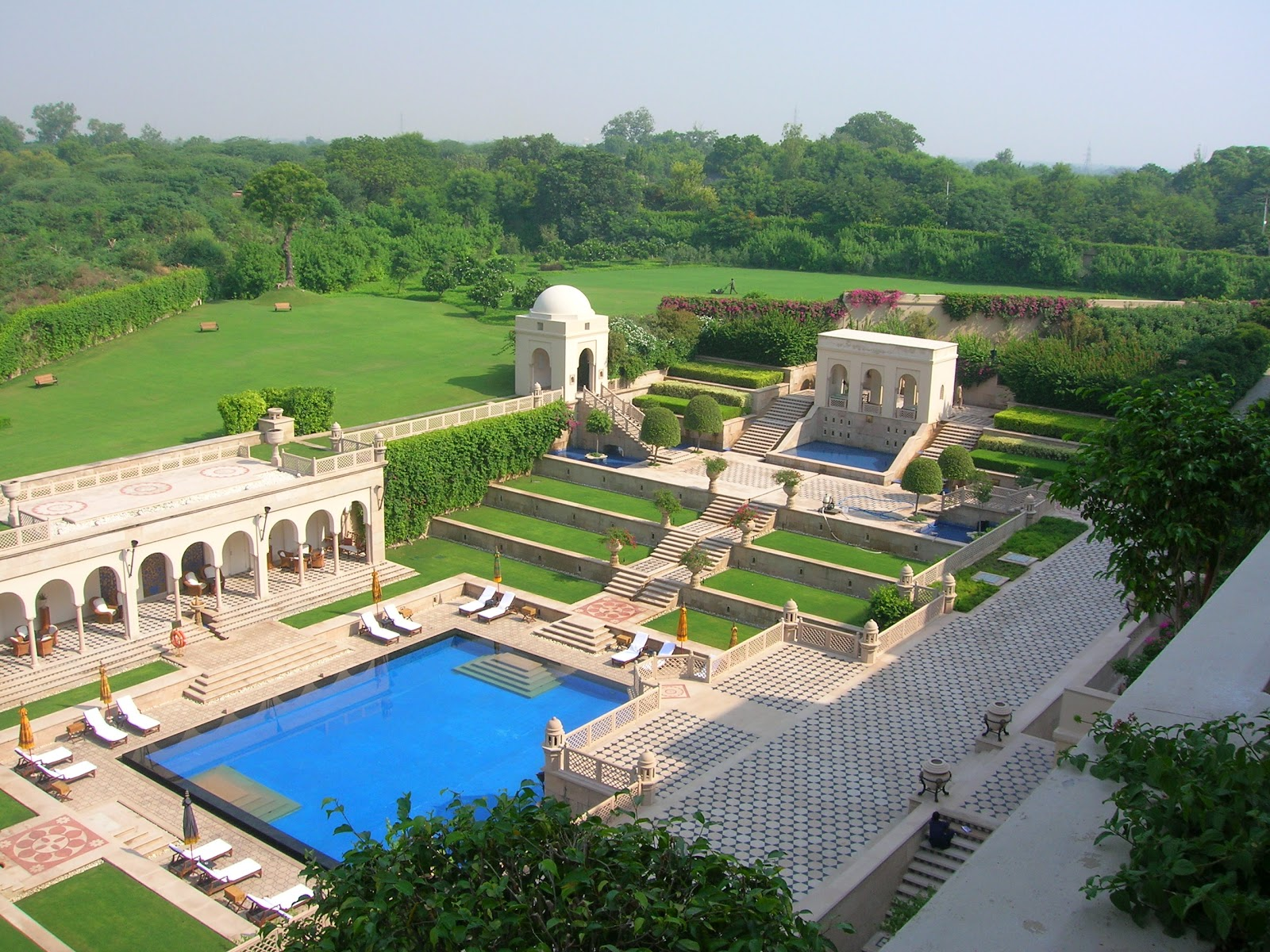 The Hotel We Stayed Was Oberoi Amarvilas