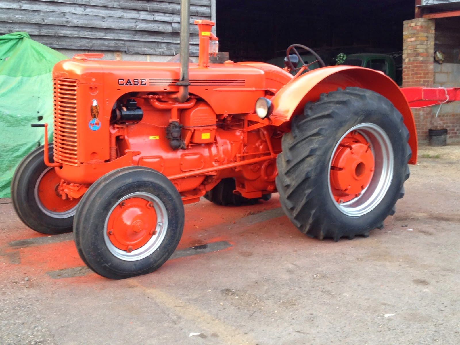 1942 Case Tractor : General farm traders trading in machinery equipment
