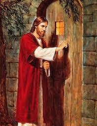 """""""Eis que estou à porta e bato. Se alguém ouvir a minha voz e abrir a porta, entrarei em sua casa .."""