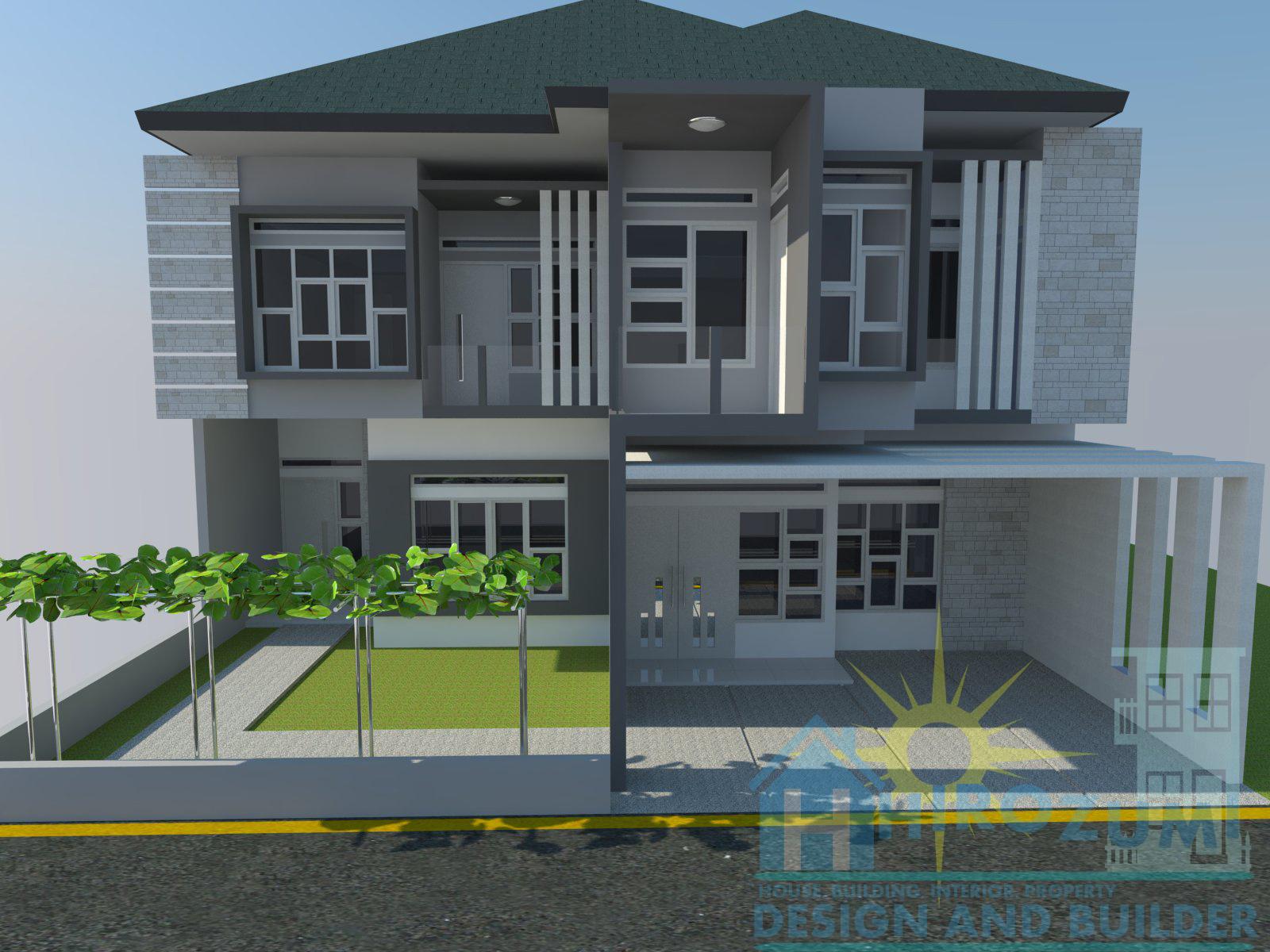 Inspirasi Desain Rumah Minimalis Plus Taman Masa Kini