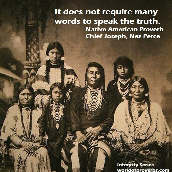 Famous Native American Chief Joseph Quotes
