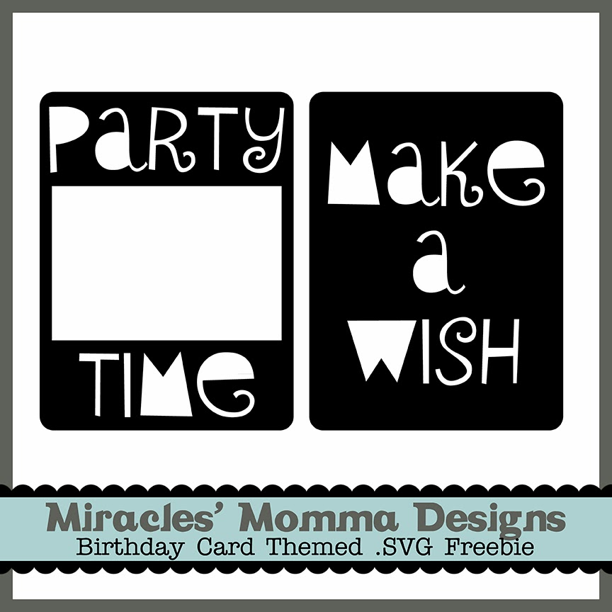 Pocket Scrapbook_Birthday Cards_SVG Freebie