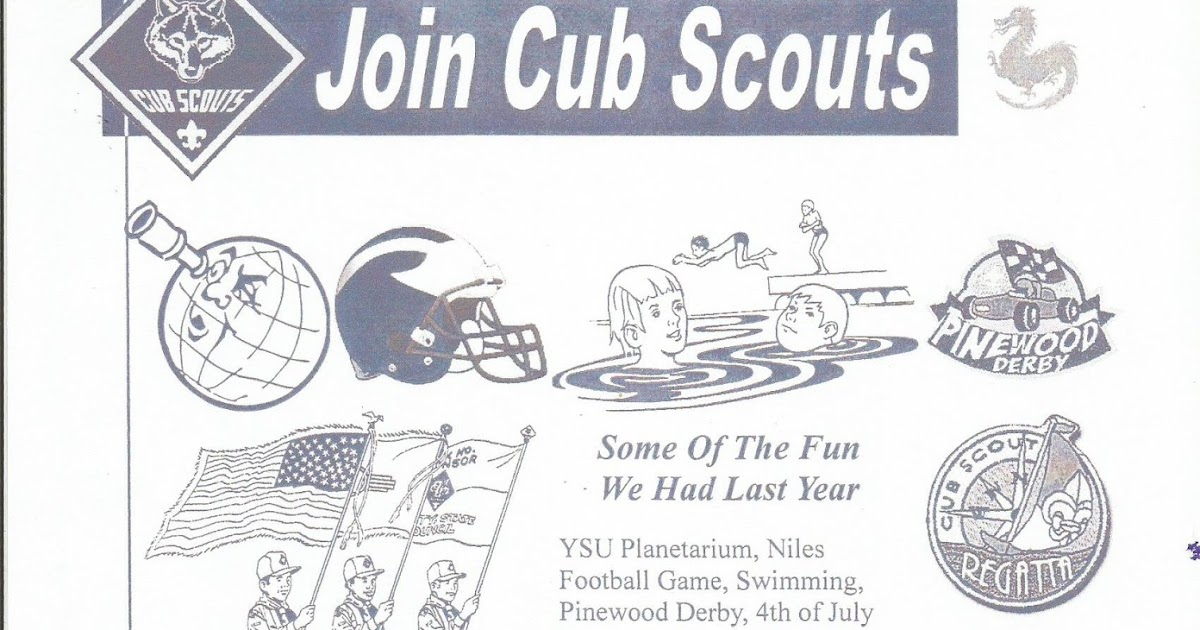 kidding around  niles cub scout pack 135 invites you to