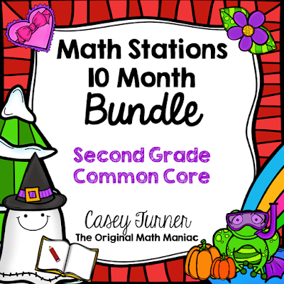 https://www.teacherspayteachers.com/Product/Math-Stations-and-Journal-Prompts-Bundle-Second-Grade-Common-Core-1949154
