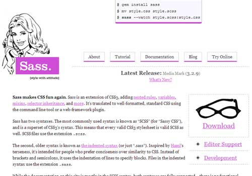 SaSS ~ 43 Useful and Time Saving Web Development Kits and Frameworks