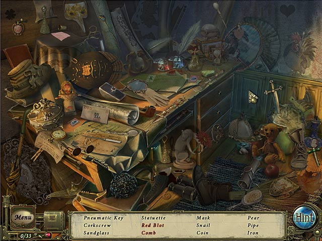 Dark Tales: Edgar Allan Poe's The Premature Burial Collector's Edition screenshot 2