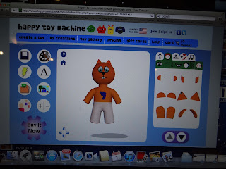 Happy Toy Machine Review and GIVEAWAY!! Make your own personalized toy!