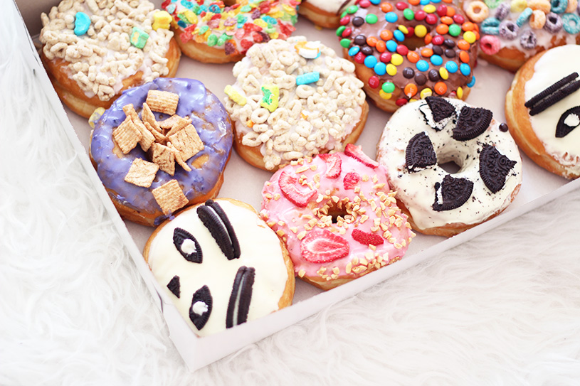 cereal california donut