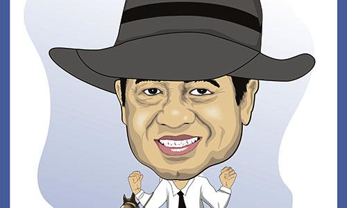 Foto SBY : Karikatur Koboy