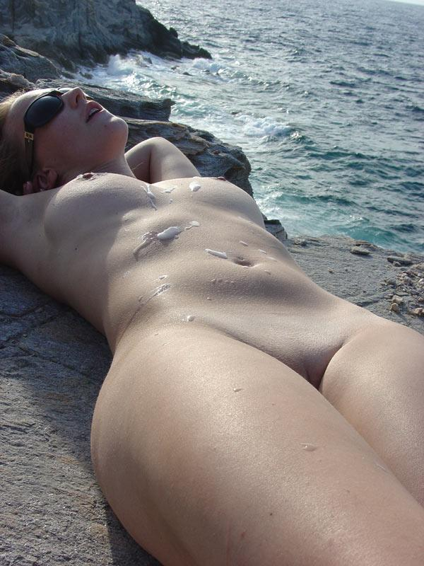 Very valuable Naked beach cum shots congratulate