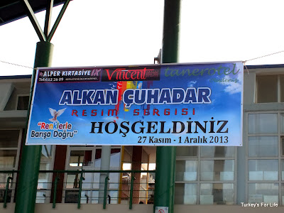 Alkan Çuhadar Art Exhibition, Fethiye Culture Centre