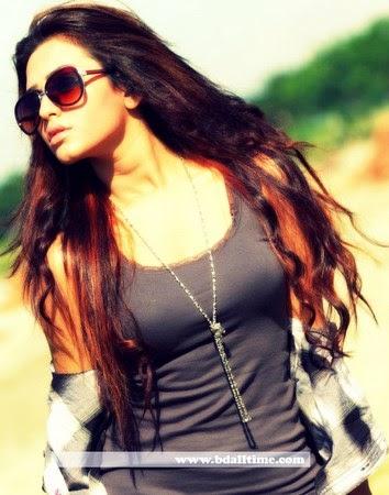 TV show presenter Nusrat Faria
