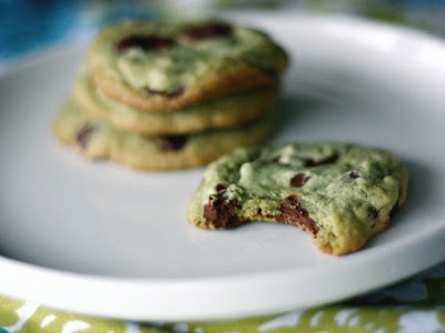 St Patrick's Day treats recipe: mint chocolate chip cookies