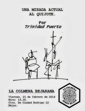 21/Febrero: Charla: Una mirada actual al Quijote. Béjar