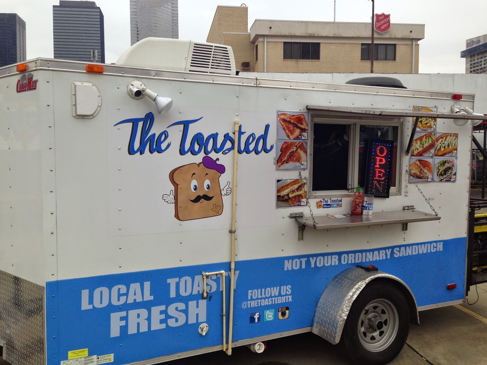 The Toasted Food Truck, Houston, TX