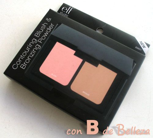 Contouring blush and bronzing powder