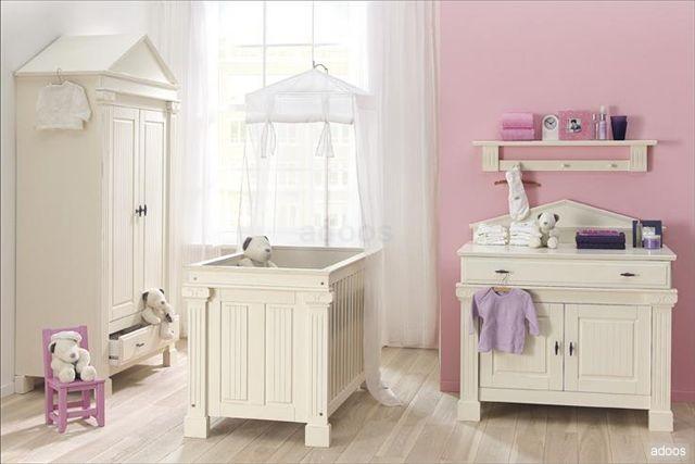 Dormitorio para bebita