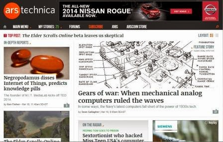 Belajar dengan Bercermin Pada Ars Technica
