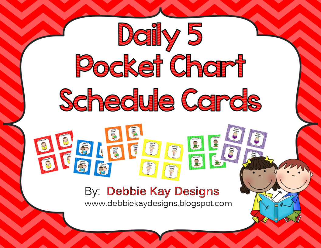 http://www.teacherspayteachers.com/Product/Daily-5-Pocket-Chart-Schedule-Cards-1289099