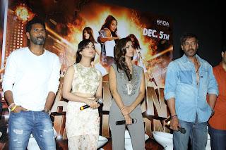 Yami Gautam and Manasvi Mamgai Pictures at Action Jackson Trailer Launch  35
