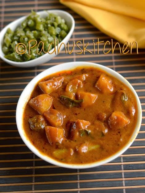Sweet Potato Kuzhambu