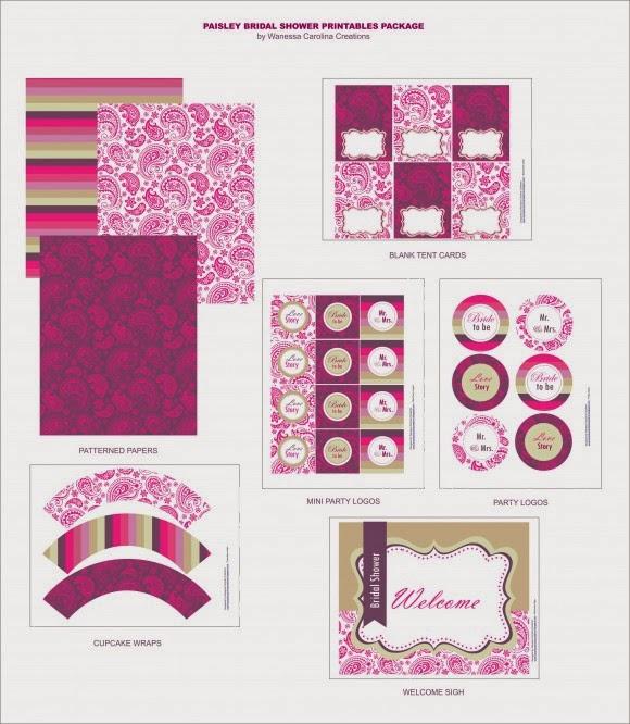 Despedida de Soltera: Kit para Imprimir Gratis. | Ideas y material