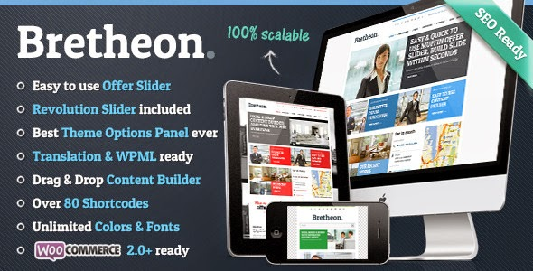 Bretheon v2.2.6 Premium WordPress Theme – ThemeForest