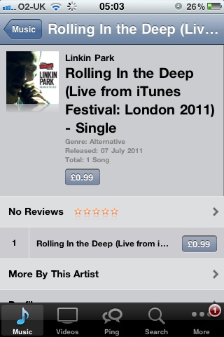 Linkin Park India Unlimited : Linkin Park's cover of Adele's 'Rolling in the Deep' now on iTunes!
