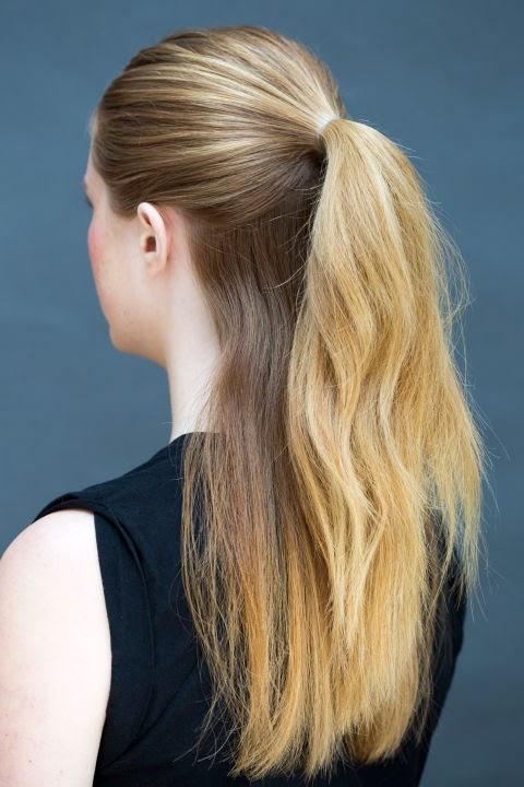 Как сделать волосы сверху