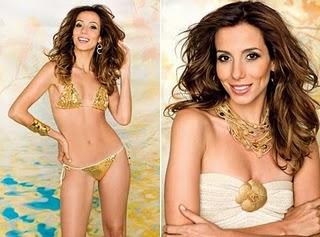 Tania Khalill pelada