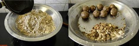 how to make sathu maavu laddu
