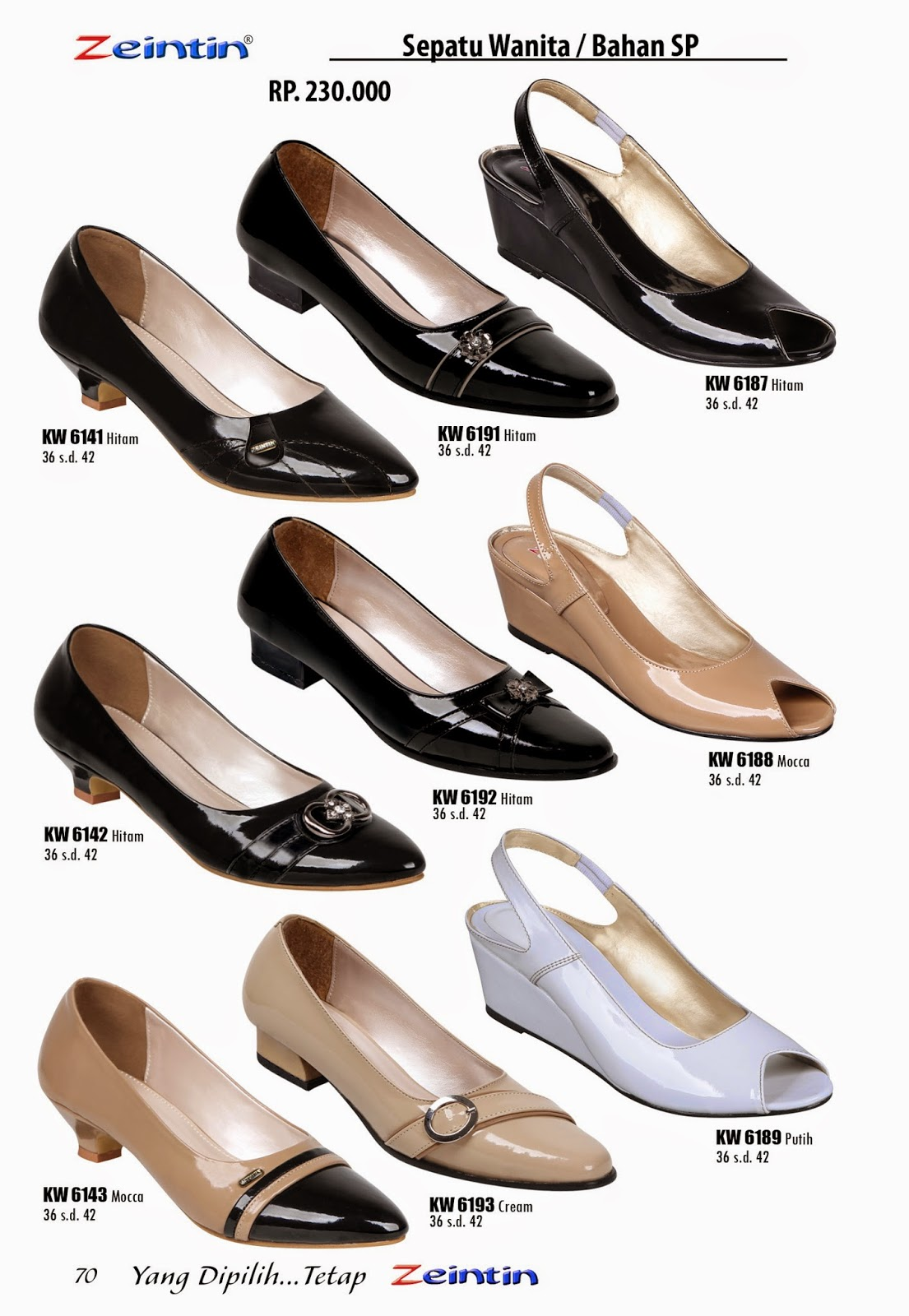 Sepatu Wanita Zeintin Katalog Edisi Brilian 11
