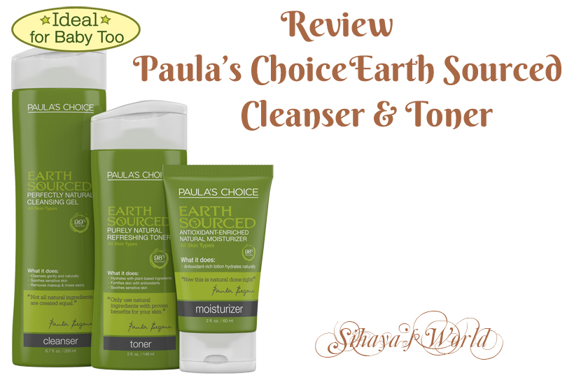 Paula's Choice Earth Sourced Clanser & Toner