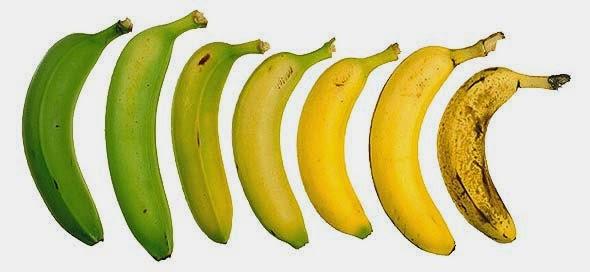 Fruta verde o madura