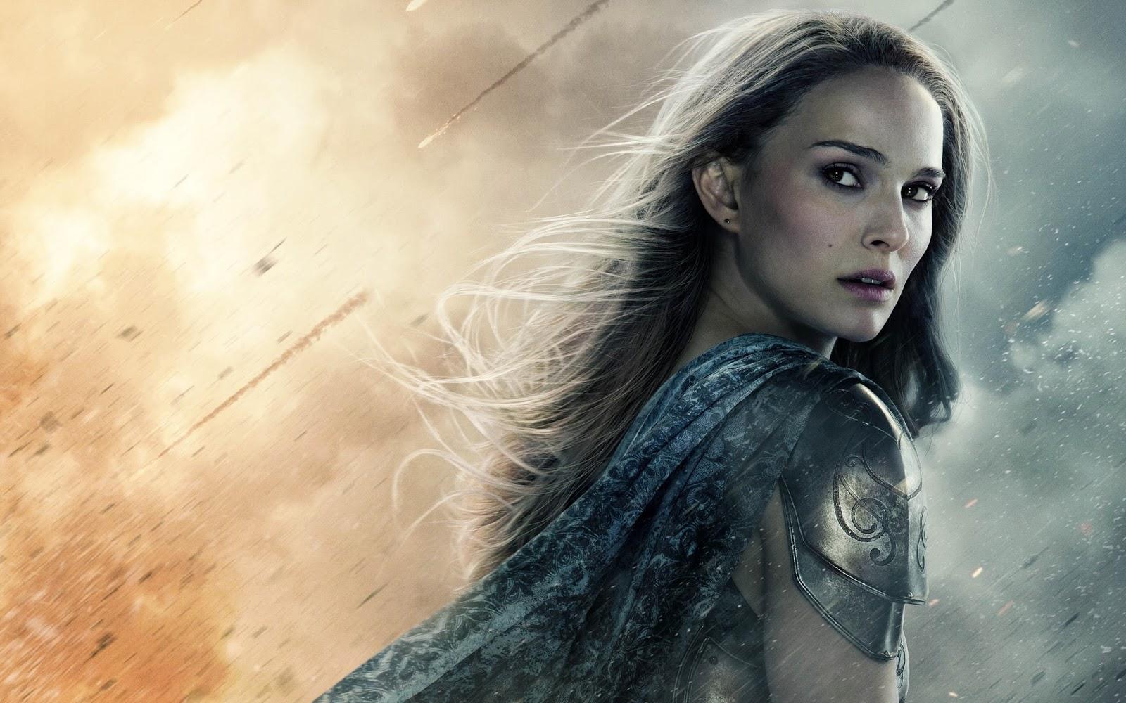 Natalie Portman Thor The Dark World Movie Wallpaper