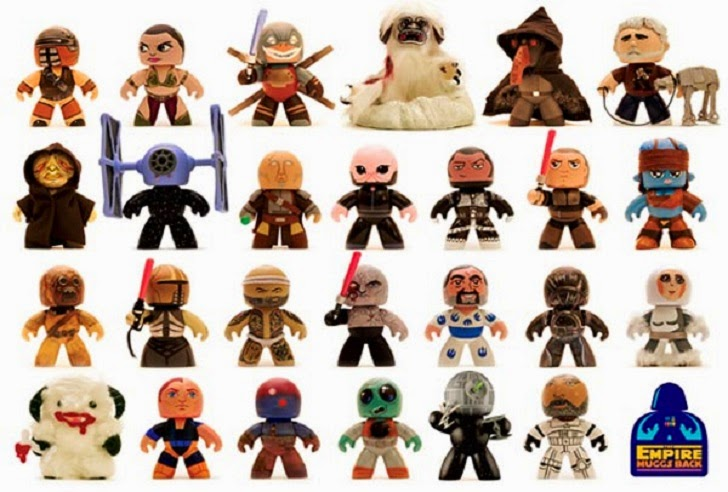 The Empire Muggs Back Star Wars Mighty Muggs