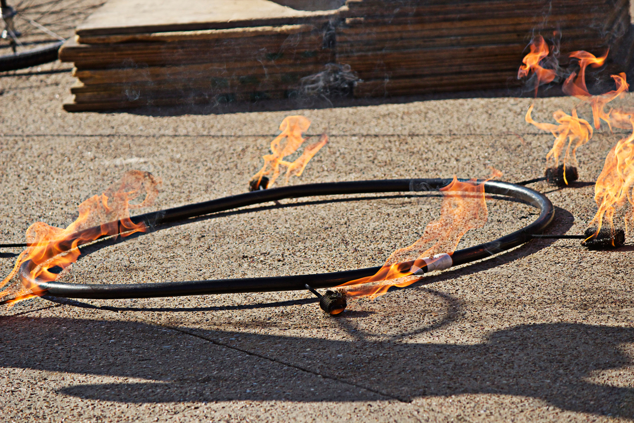 ring of fire performer