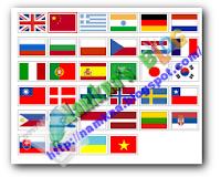 Hộp dịch (translate) hình lá cờ cho blogger
