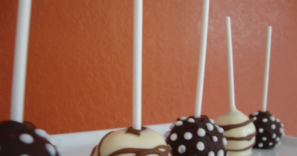Different Coatings For Cake Pops